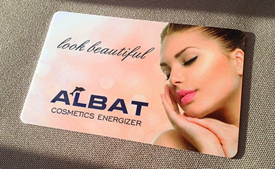 Cosmetics Energizer Card